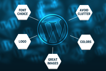 How to create a beautiful WordPress website